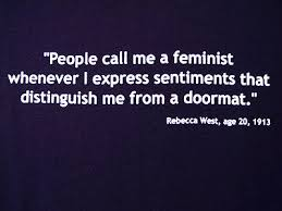 people call me a feminist