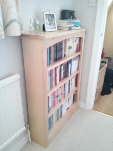 New bookcase #2 comfort reads (well it IS in my bedroom).
