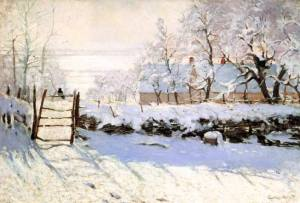 monet winter