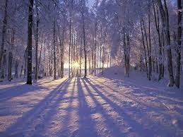 peaceful winter scene 2